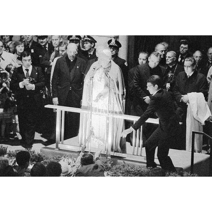 Papa Giovanni Paolo II a Chicago 1979.