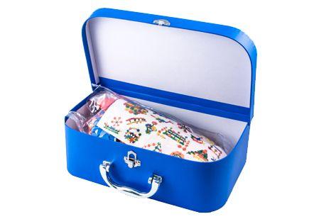 Blue suitcase - 9434