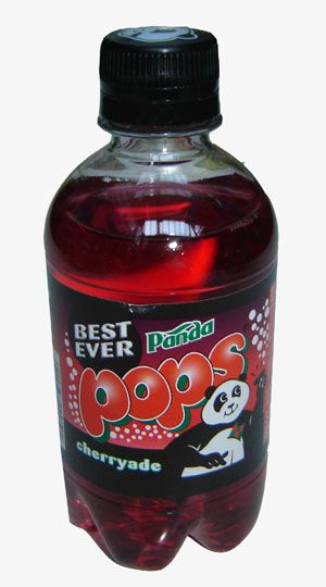 Panda Pops - discontinued now. Think they did a worryingly bright blue one. Best served warm and flat in the back of dad's hatchback Vauxhall Cavalier.