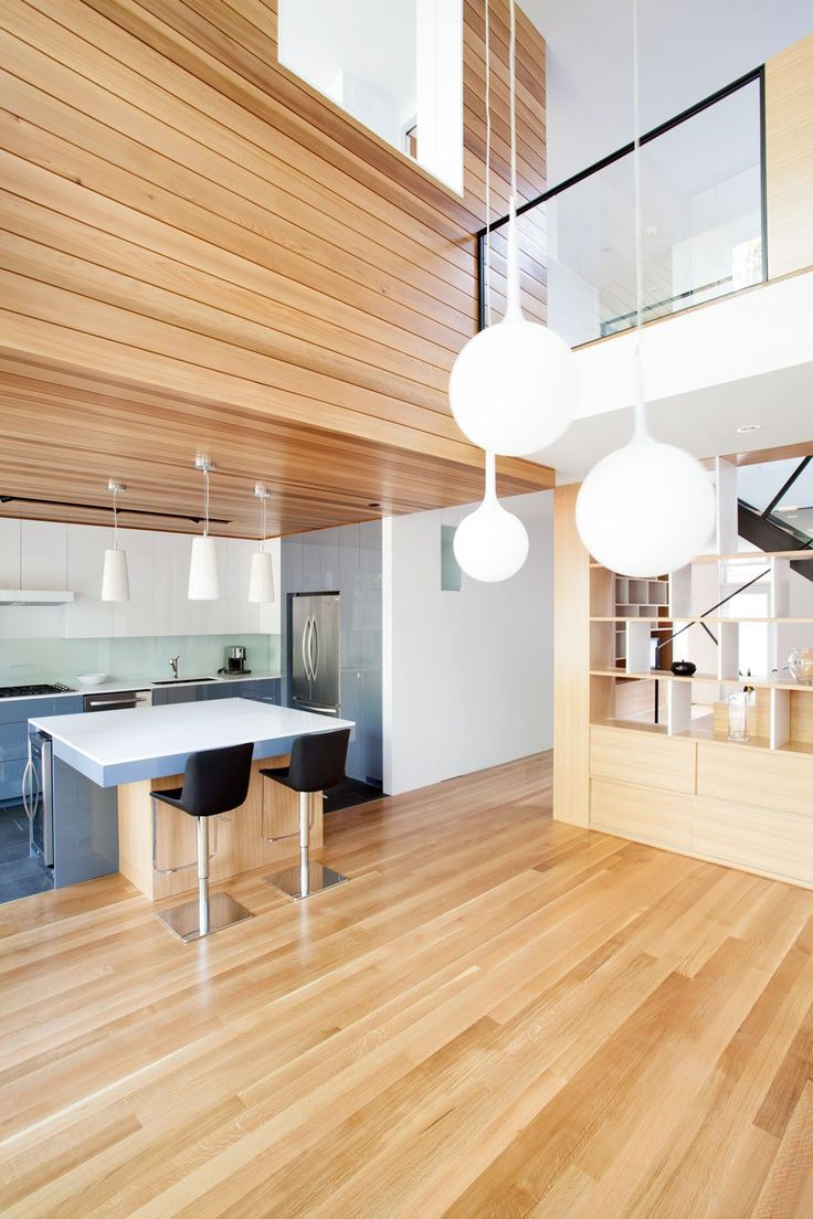 Kitchen And Wood A 1920′s Duplex in Montréal Completely Renewed: The Cambord Residence