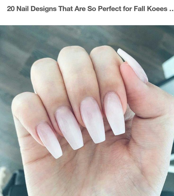 ivory nails ideas