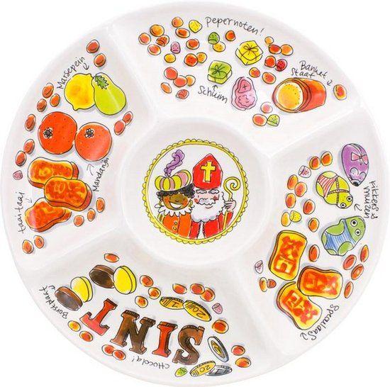Sinterklaas snackschaal blond Amsterdam Sinterklaas servies tips foodblog Foodinista