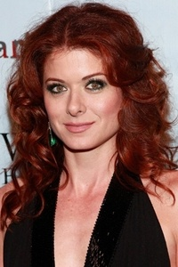 Debra Messing Mid Length Curly Red Hair Hairstyles