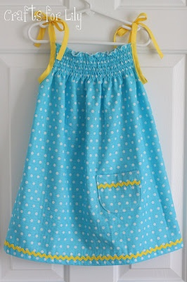Crafts For Lily: Hopeful Threads' Dress a Girl Project