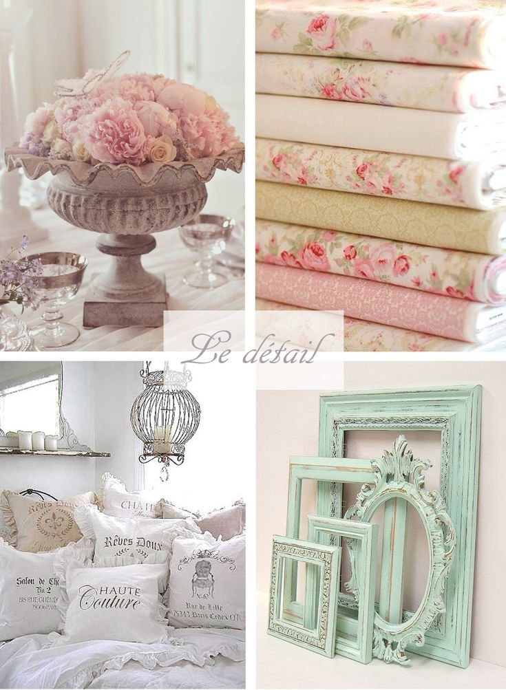[MCD] Inspiration pour une chambre Shabby Chic