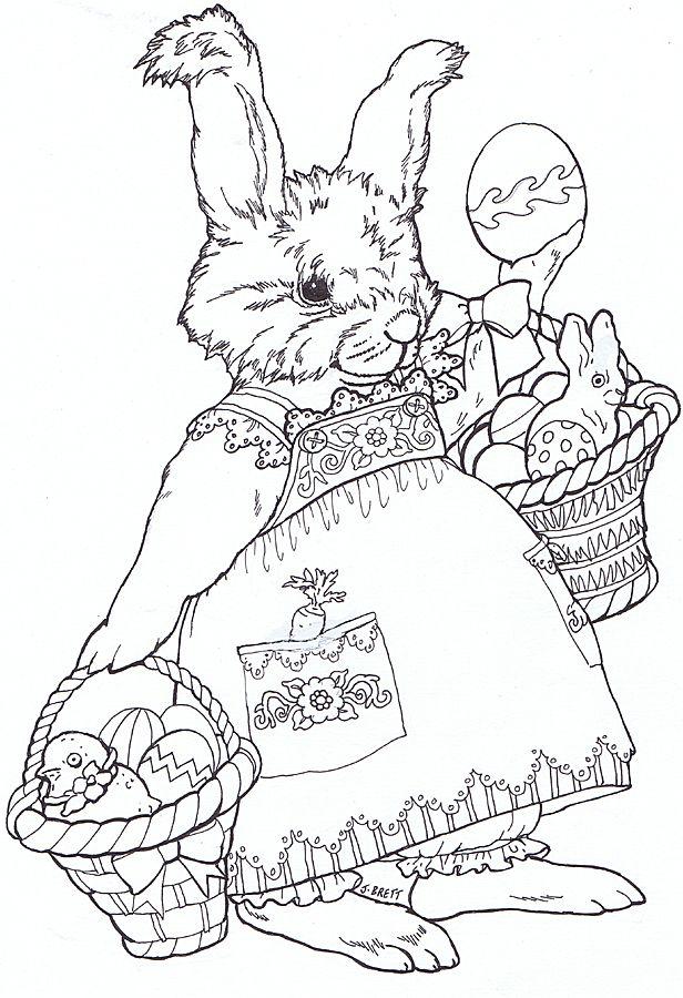 Easter Egg Mural Juney Bunny