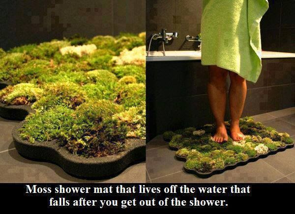 How To Make Your Own Organic Moss Shower Mat -
