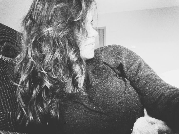 #Girl#Me#BlancoyNegro#Pelo#Cabello#Rizos#OnduladoNatural#Selfie#Blanco#Negro