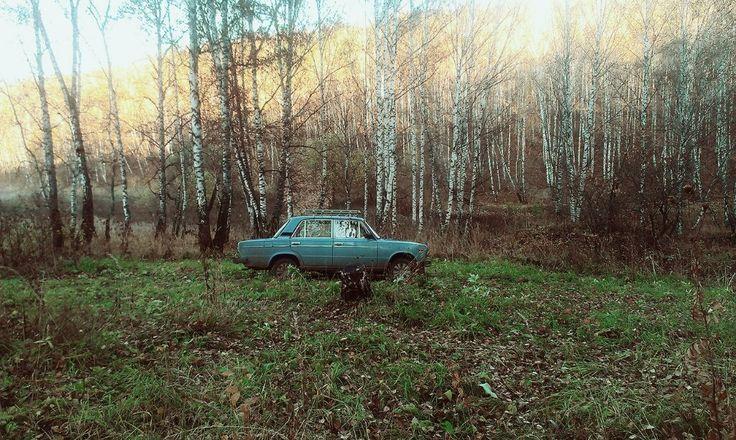 #lada #postsoviet #russia #car #lonely #90s