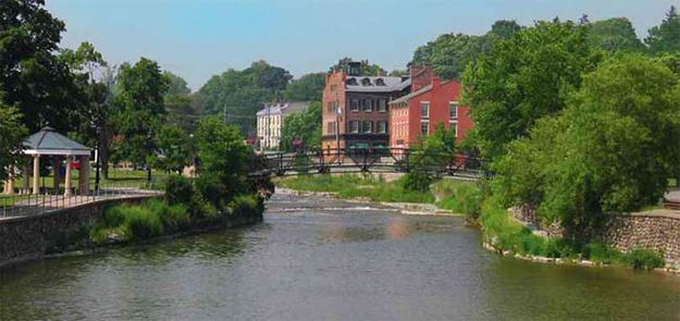 Cottage Life highlights Port Hope as great  day trip, small town destination .