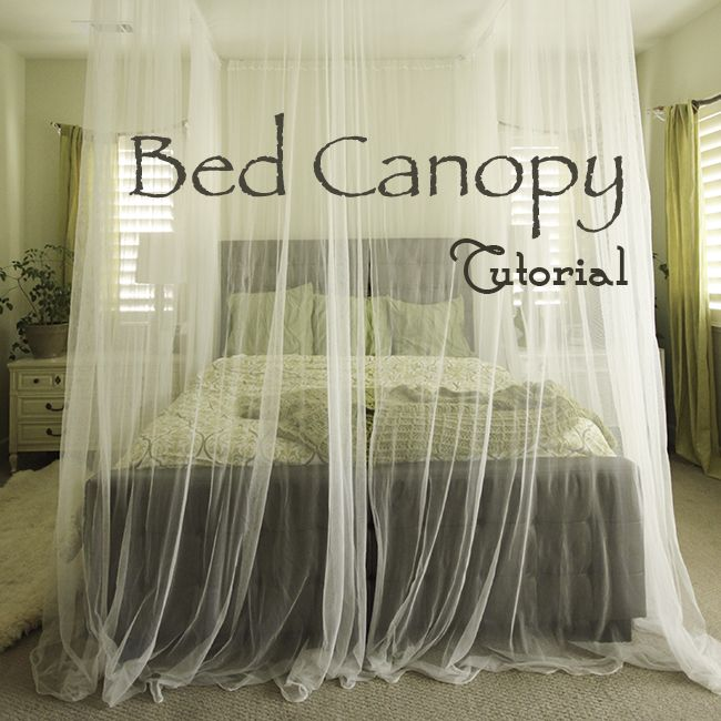 Diy Canopy Bed Tutorial Woodworking Projects Plans
