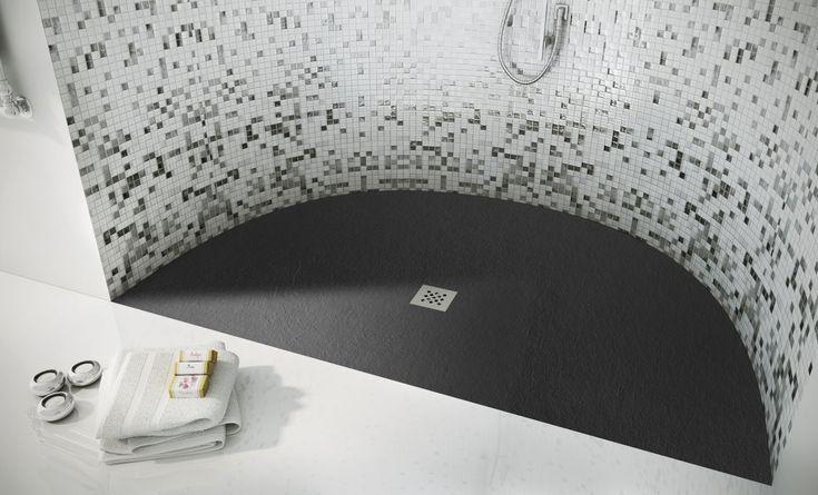 #ELAX è la collezione di piatti doccia #Fiora, flessibili, adatti a qualsiasi spazio e di facile manutenzione
