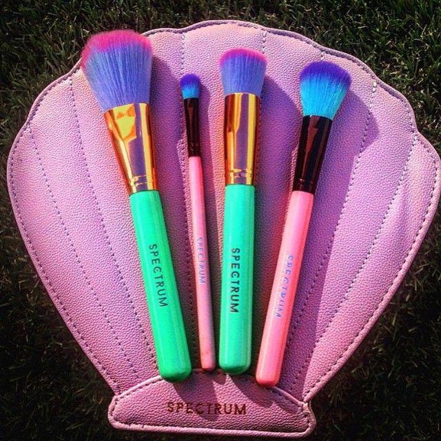 Spectrum brushes Brochas de maquillaje, Maquillajes