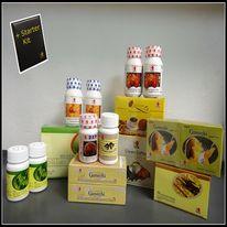 Paketets innehåll: DXN Linghzi svartkaffe - 1 st DXN Cream Coffee - 1 st Reishi Gano Tea - 1 st RG 90 kapsel - 2 st GL 90 kapsel - 2 st Cordyceps kapsel - 1 st DXN Lejonmansvampen tablett - 1 st Spirulina tablett 120 - 2 st DXN Reishi Mushroom pulver - 2 st Ganozhi tvål - 1 st Ganozhi tandkräm, 40 g - 1 st Starter Paket - 1 st http://kaffe.dxninfo.com/products