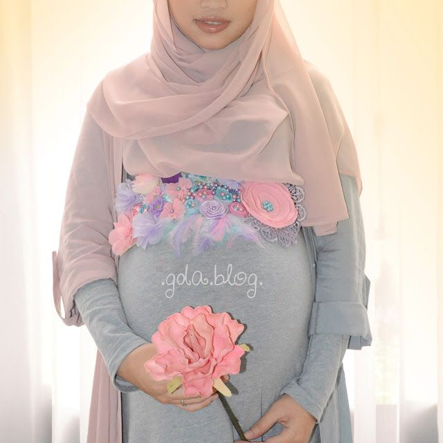 Hijab Style For Pregnant Women