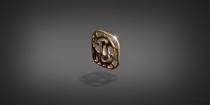 Tsuba, Marina Goryacheva on ArtStation at https://www.artstation.com/artwork/tsuba-cadd2a5c-516c-47f7-ac0a-21f867da361d