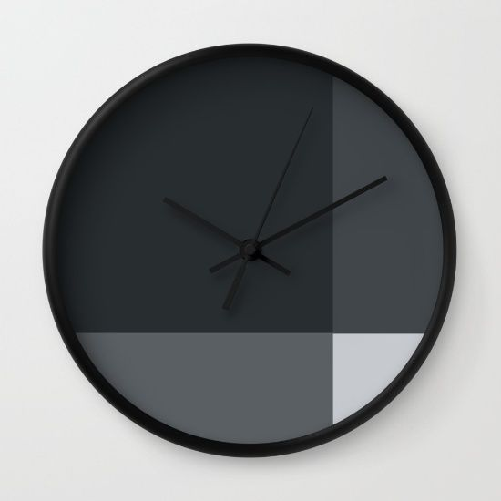 Minimalist clock #clock #watch #minimalist #grid #office