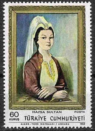 Polonya Yahudisi Helga, Hafsa Sultan, 10. Padişah Kanuni Sultan Süleyman'ın validesi, Yavuz Sultan Selim Han'ın hasekisi