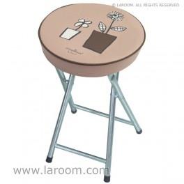 """Laroom - Taburete plegable marrón """"regar"""" - Laroom diseña los productos para Baño más bonitos del mundo - www.laroom.com"""