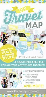 DIY Memory Travel Map. What a great way to display all the great memories and awesome travel souvenirs. Such a fun family gift or even for a romantic gift.