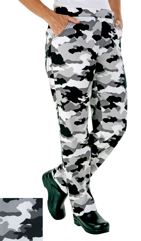 Camouflage chef jacket