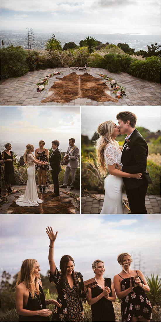 outdoor wedding ceremony @weddingchicks