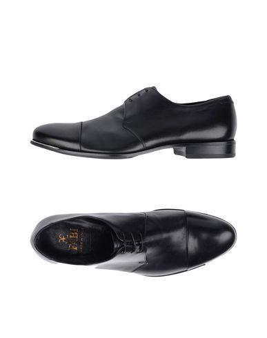FABI Men's Lace-up shoe Black 8.5 US