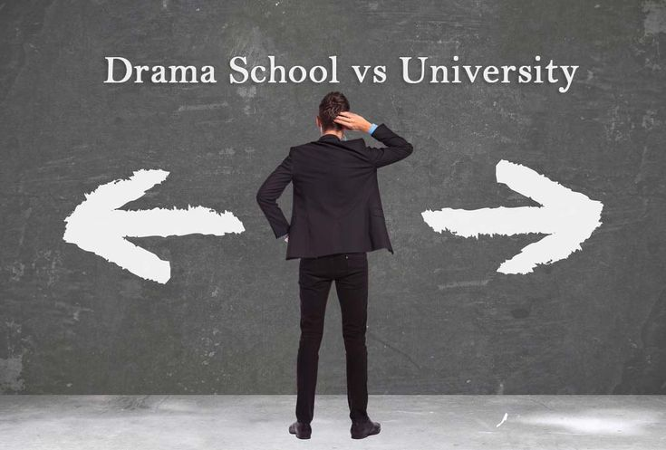 Drama School vs University for Acting: Pros. A lot of aspiring actors are confused about the difference between a drama school and a university. Is an acting degree from a reputable drama school the same as the one from a university? #acting #training #drama #school #classes #university #education