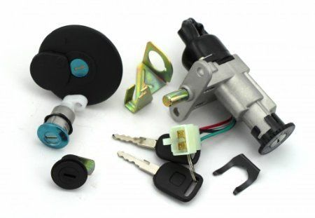 Ignition Switch Key Set Kit for GY6 50cc 125cc 150cc Moped Scooter 4 Pin Taotao * Click image to review more details.
