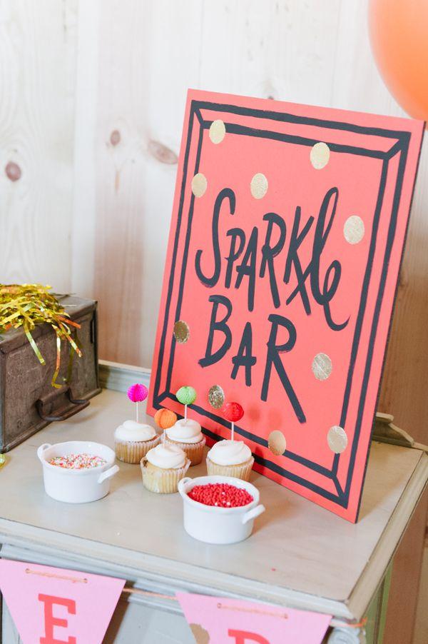 Sparkle bar - sprinkles for cupcakes