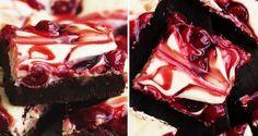 Čokoládové brownies s třešněmi