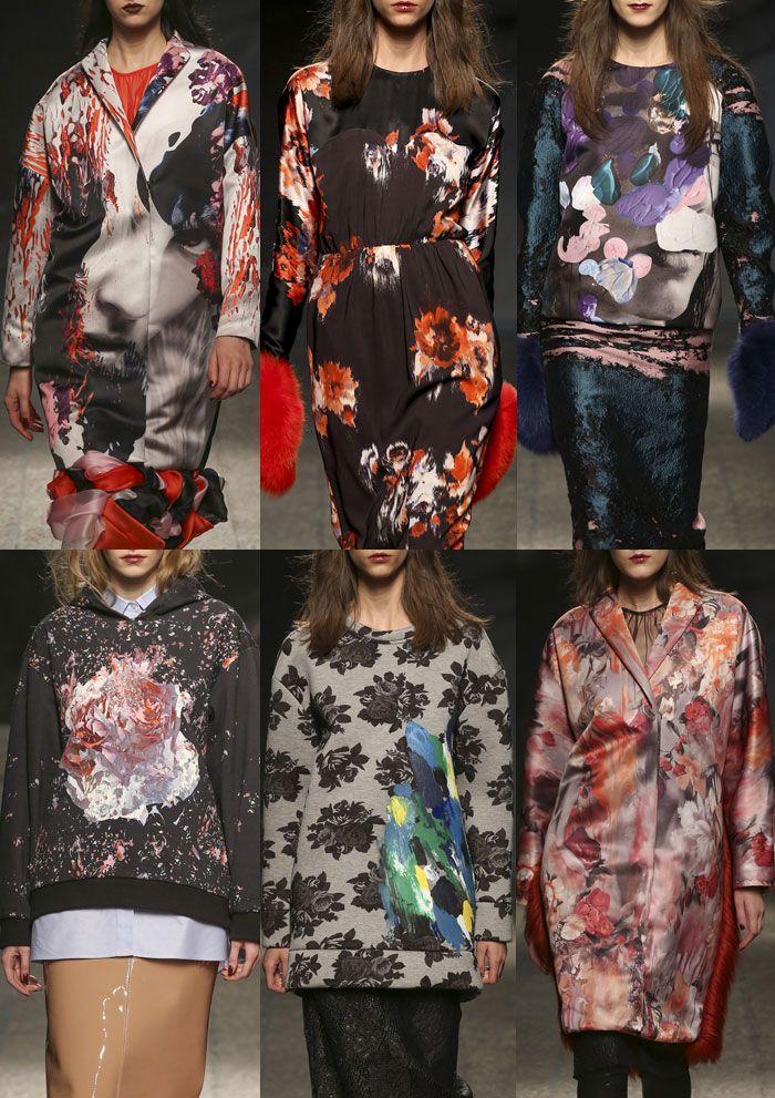 Milan Fashion Week – MSMG Autumn/Winter 2014/2015 – Print Highlights – Part 2 catwalks