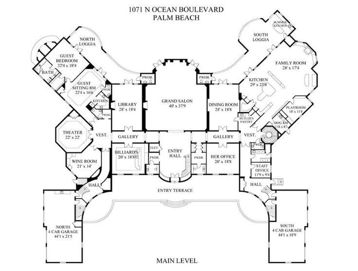Mansion House Plans 8 Bedrooms 1743 best architect images on pinterest | house floor plans, floor
