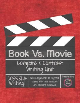 books vs. movies (compare and contrast) essay