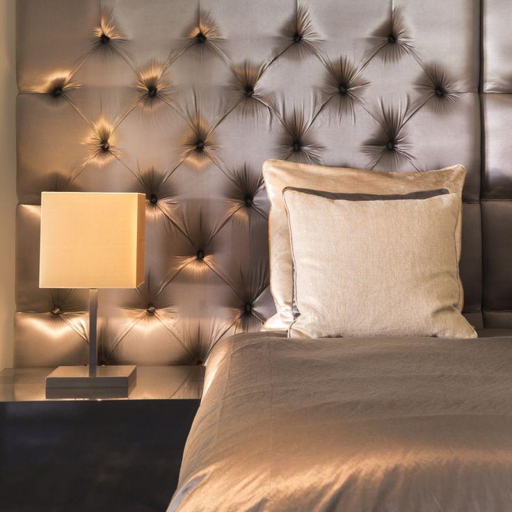 Bed # Custom made # Accessoires # Interiors DMF # Luxery # via # De Beukenhof # interieur #