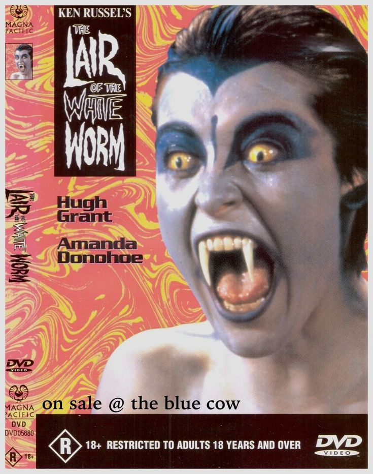 Lair Of The White Worm DVD - Hugh Grant, Amanda Donohoe