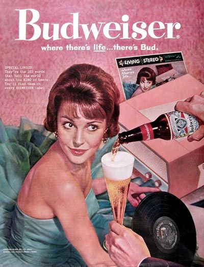 Old Commercials 1960 | 1960 Budweiser Beer Classic Ad