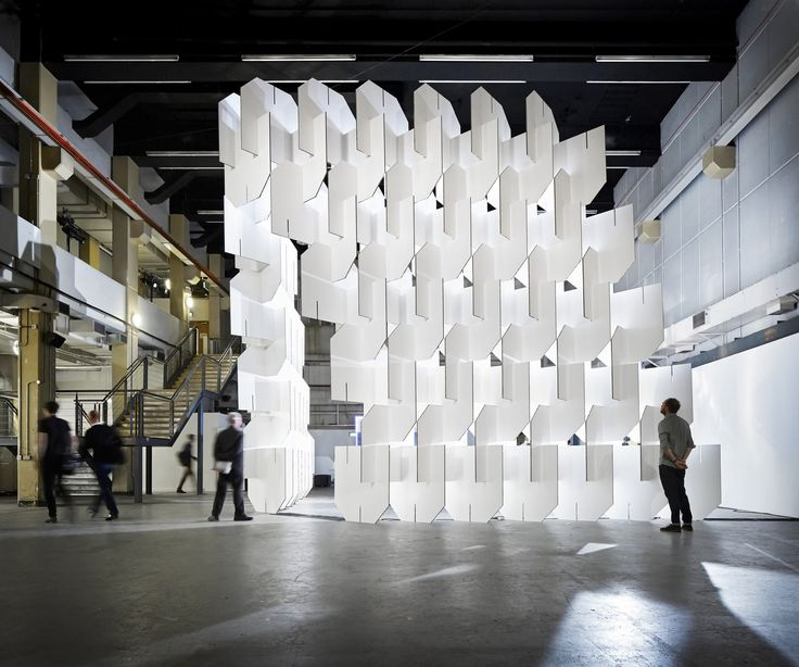 Taking inspiration from Charles and Ray Eames' House of Cards, London-based practice Populous have developed an insta...