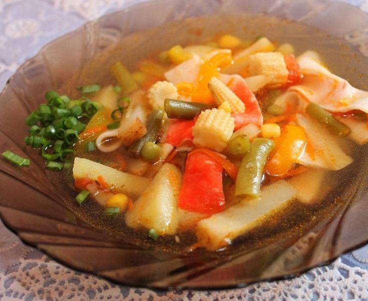 Крабовый суп