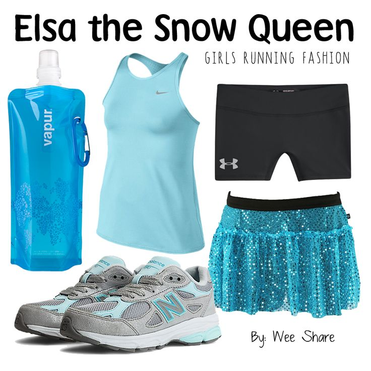 Disney Inspired Girls Running Fashion- Elsa
