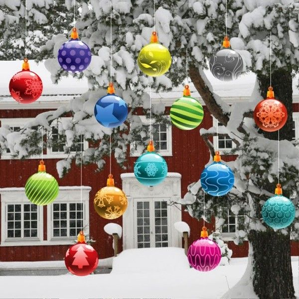 Outdoor Decorating For Christmas 78 best christmas decorations outdoor images on pinterest