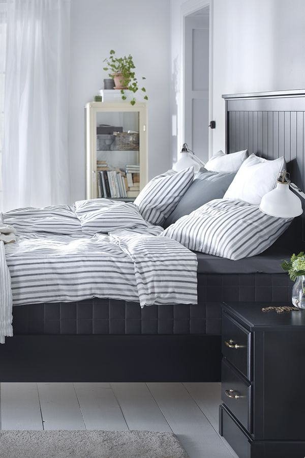 undredal bed frame black
