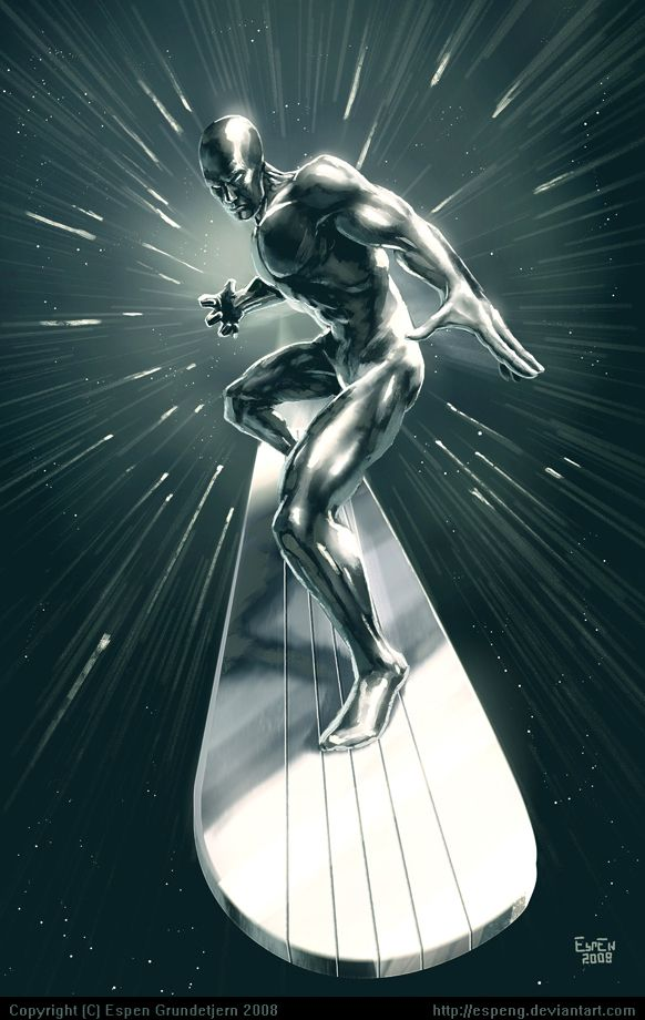 Silver Surfer; repinned for my husband