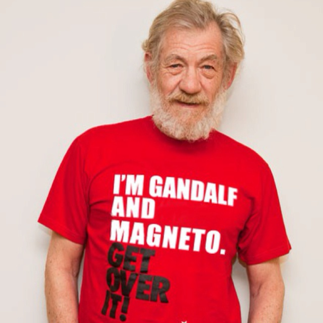 Funny stuff...: The Lord, Like A Boss, This Man, Tees Shirts, Sir Ian, Ianmckellen, Well Said, Ian Mckellen, True Stories