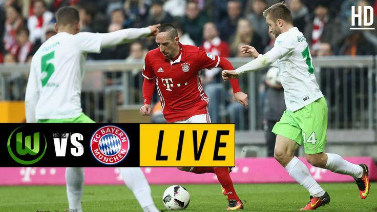 Wolfsburg vs Bayern Munich LIVE / April 29, 2017 Bayern