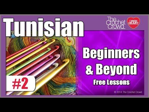 Begin to start your Tunisian crochet. Mikey will teach you how to get started. He offers 3 methods on getting started. Tunisian naturally wants to roll up li...