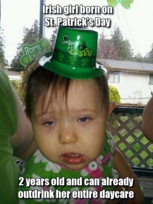 a390d487c1051 23 Hilarious 2018 St. Patrick s Day Memes That Will Bring The Irish Out Of  Anyone - QuotesHumor.com
