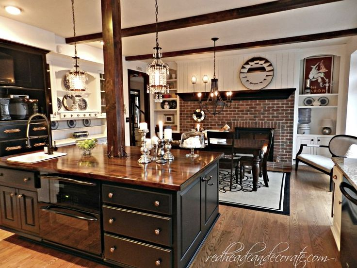 69 best Kitchen Needs support images on Pinterest | Cuisine design Kitchen Makeover Ideas With Brick on brick pattern backsplash, brick style backsplash, brick paver backsplash,