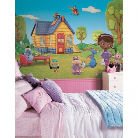 Doc McStuffins XL Wallpaper Mural 10.5' x 6'