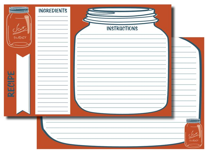17 Best images about Printable Recipe Cards on Pinterest | Greens ...
